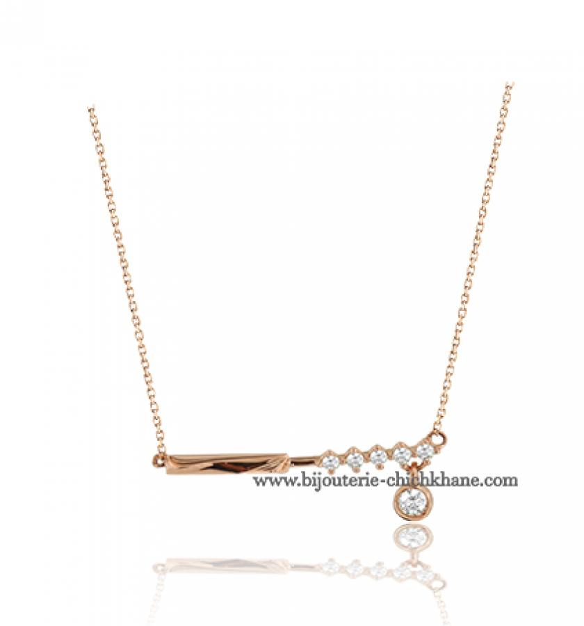 Bijoux en ligne Collier Diamants 43317