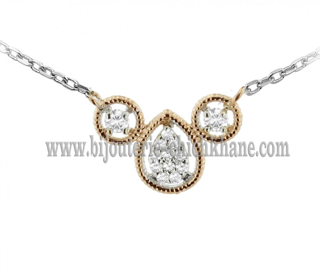 Bijoux en ligne Collier Diamants 44033