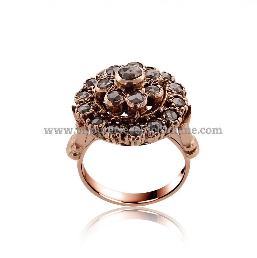 Bijoux Bague Diamants Rose ''Chichkhane'' 44487