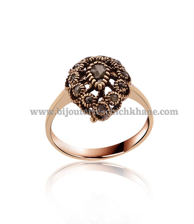Bijoux Bague Diamants Rose ''Chichkhane'' 44488