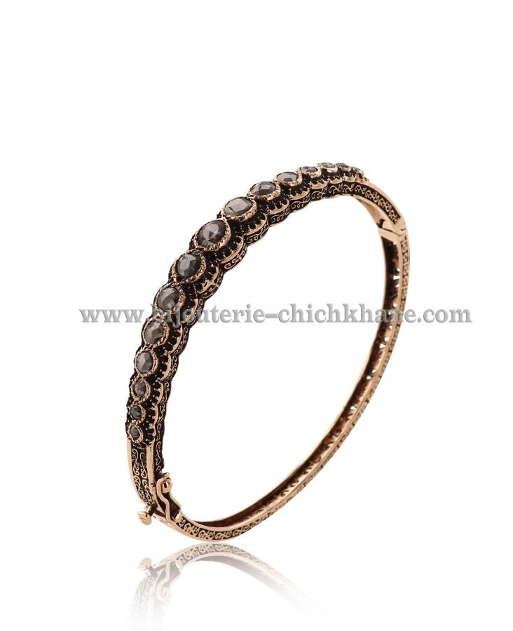 Bijoux en ligne Bracelet Diamants Rose ''Chichkhane'' 44506