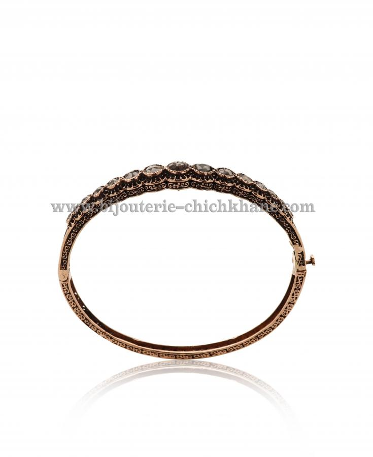 Bijoux Bracelet Diamants Rose ''Chichkhane'' 44506