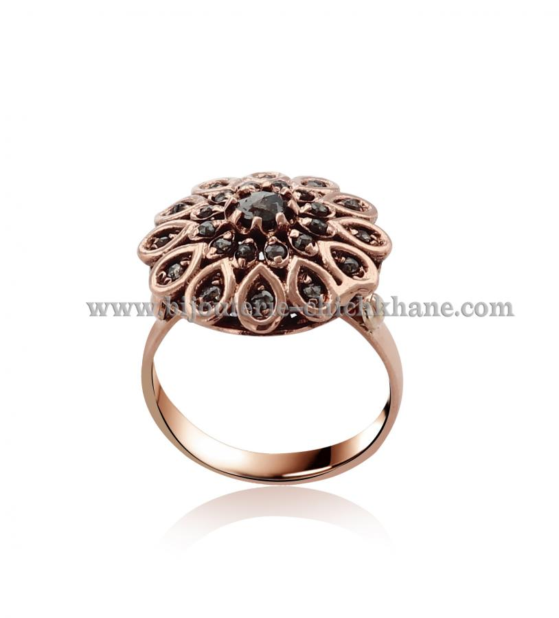 Bijoux Bague Diamants Rose ''Chichkhane'' 44516