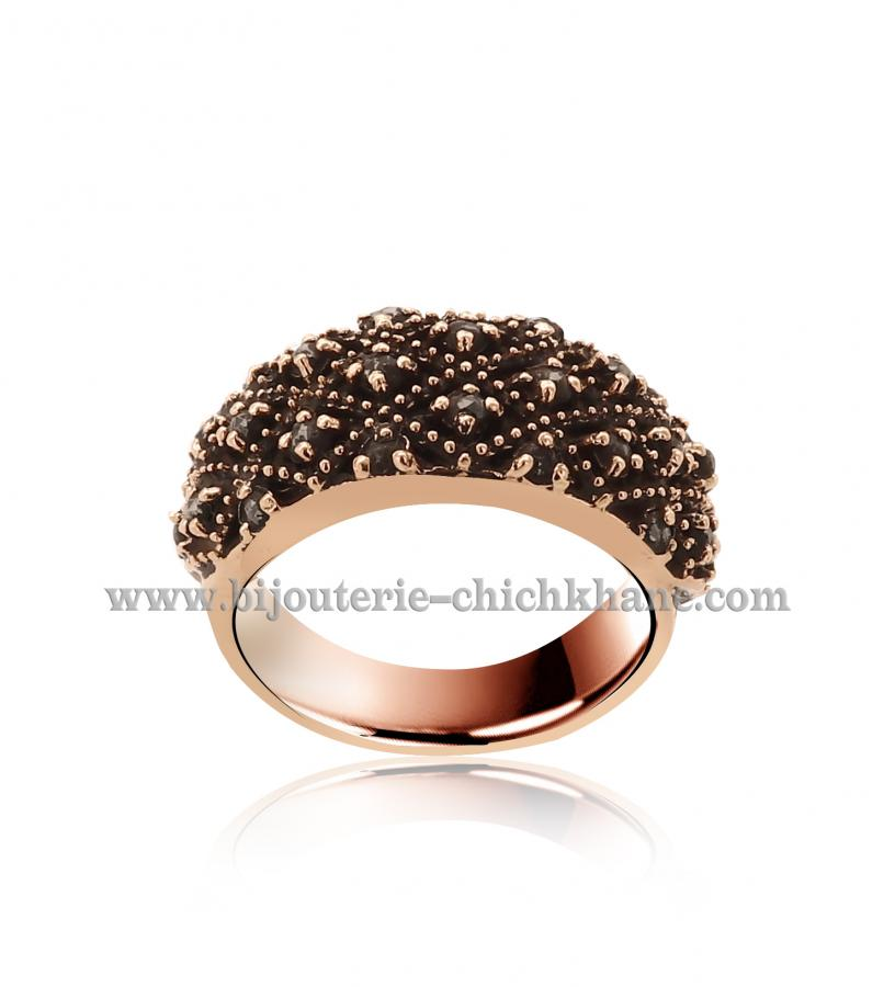Bijoux Bague Diamants Rose ''Chichkhane'' 44525