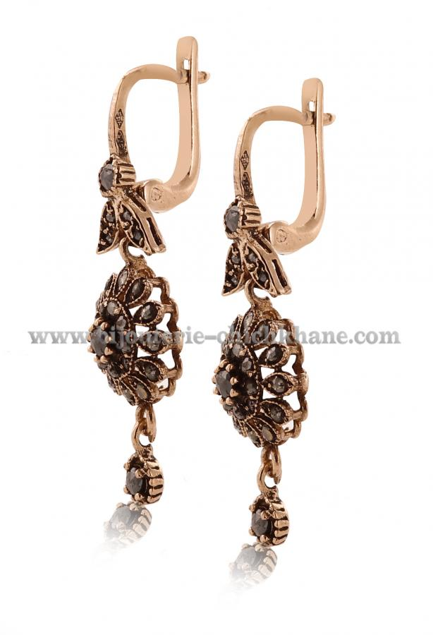 Bijoux Boucles D'oreilles Diamants Rose ''Chichkhane'' 44996