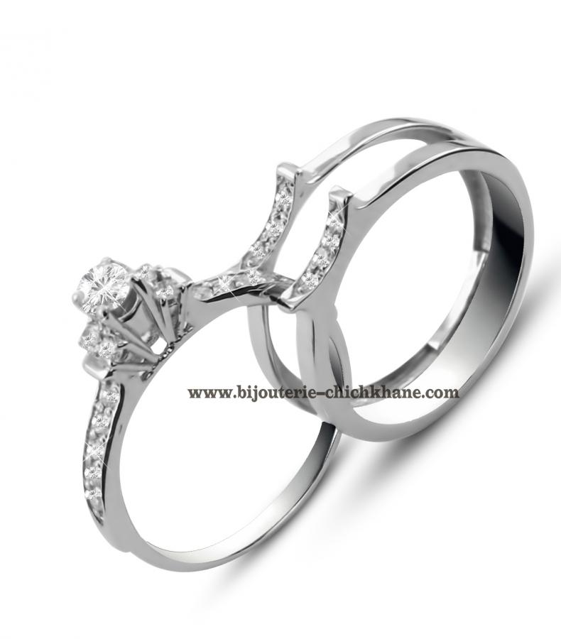 Bijoux Solitaire Diamants 45320