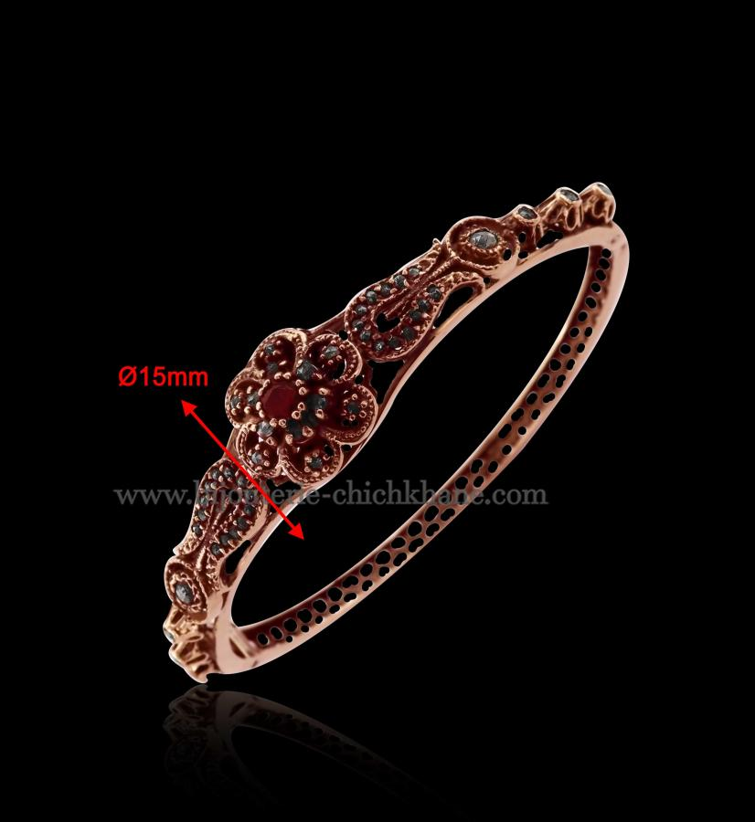 Bijoux en ligne Bracelet Diamants Rose ''Chichkhane'' 45968