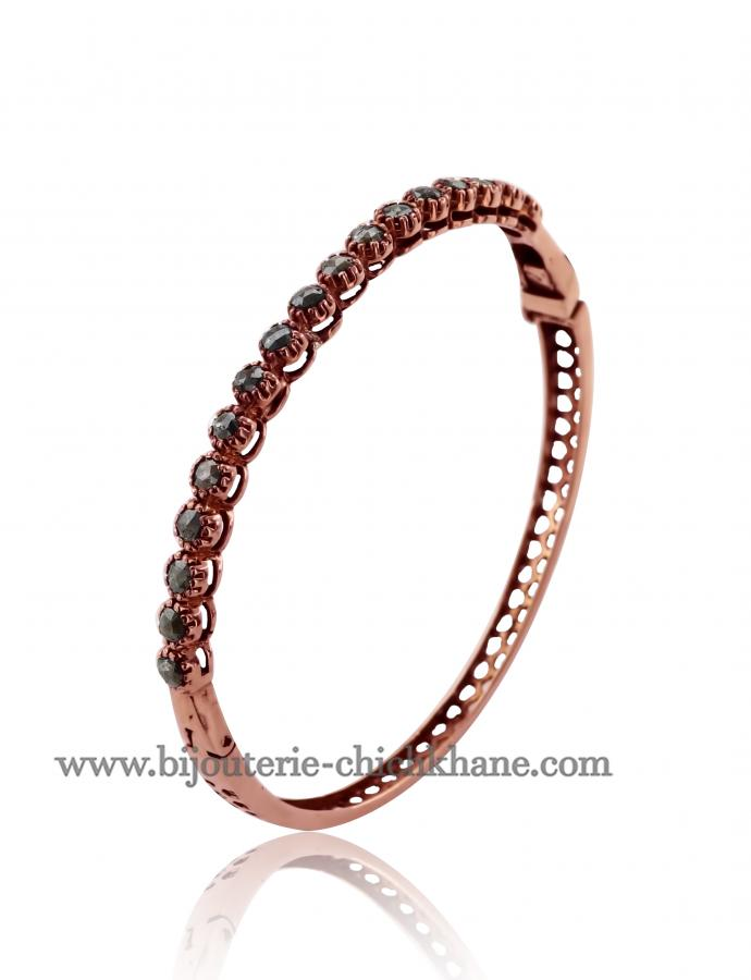 Bijoux en ligne Bracelet Diamants Rose ''Chichkhane'' 51639