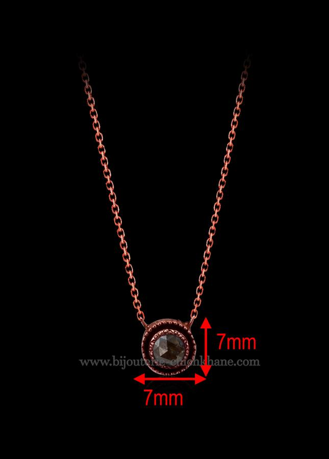 Bijoux en ligne Collier Diamants Rose ''Chichkhane'' 46139