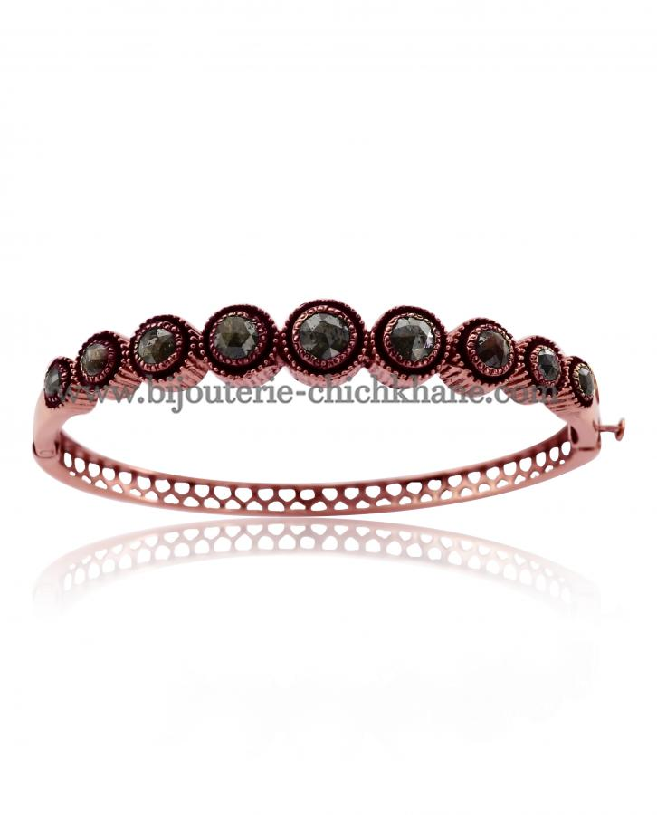 Bijoux en ligne Bracelet Diamants Rose ''Chichkhane'' 46142