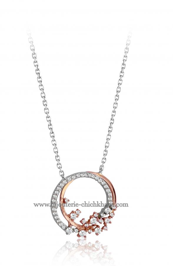 Bijoux en ligne Collier Diamants 46831