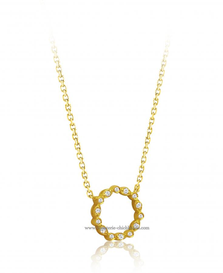 Bijoux en ligne Collier Diamants 46840