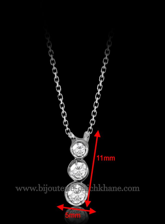Bijoux en ligne Collier Diamants 46843
