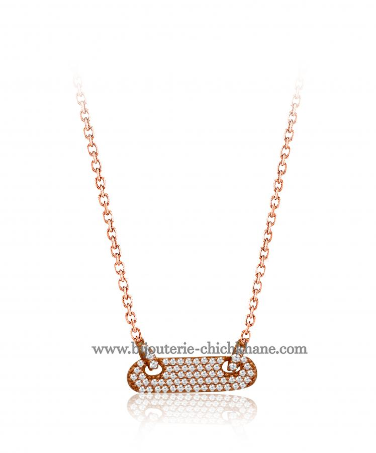 Bijoux en ligne Collier Diamants 46845