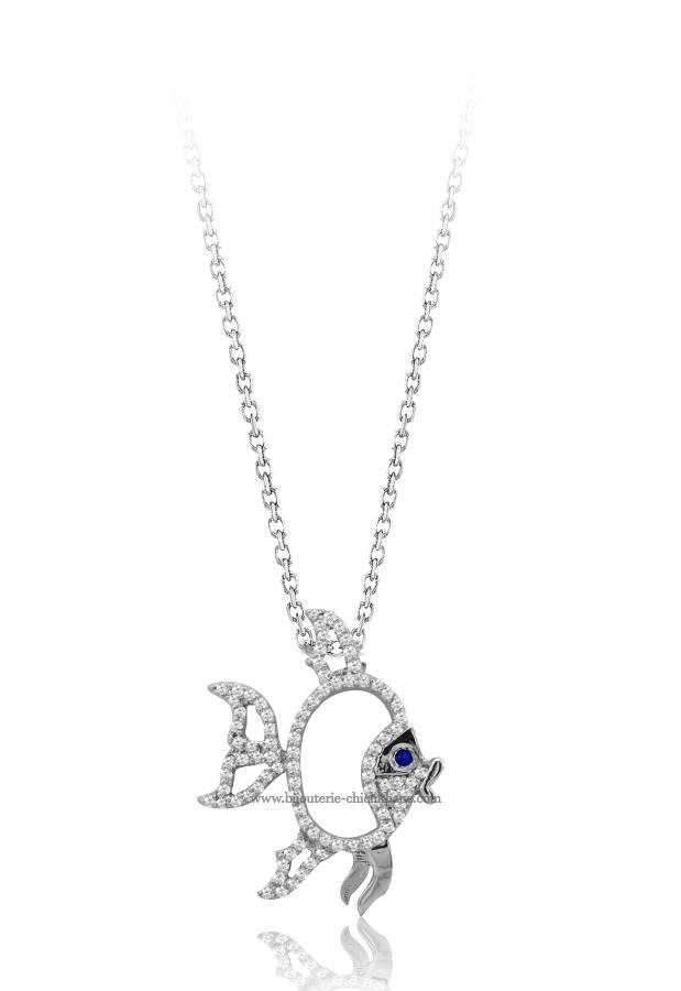 Bijoux en ligne Collier Diamants 47403