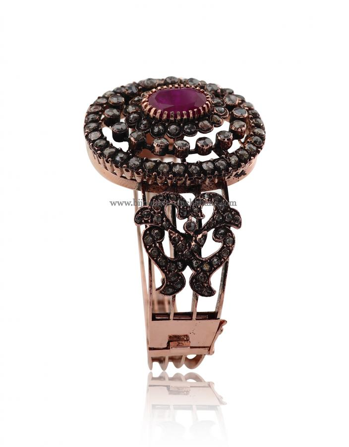 Bijoux en ligne Bracelet Diamants Rose ''Chichkhane'' 47642
