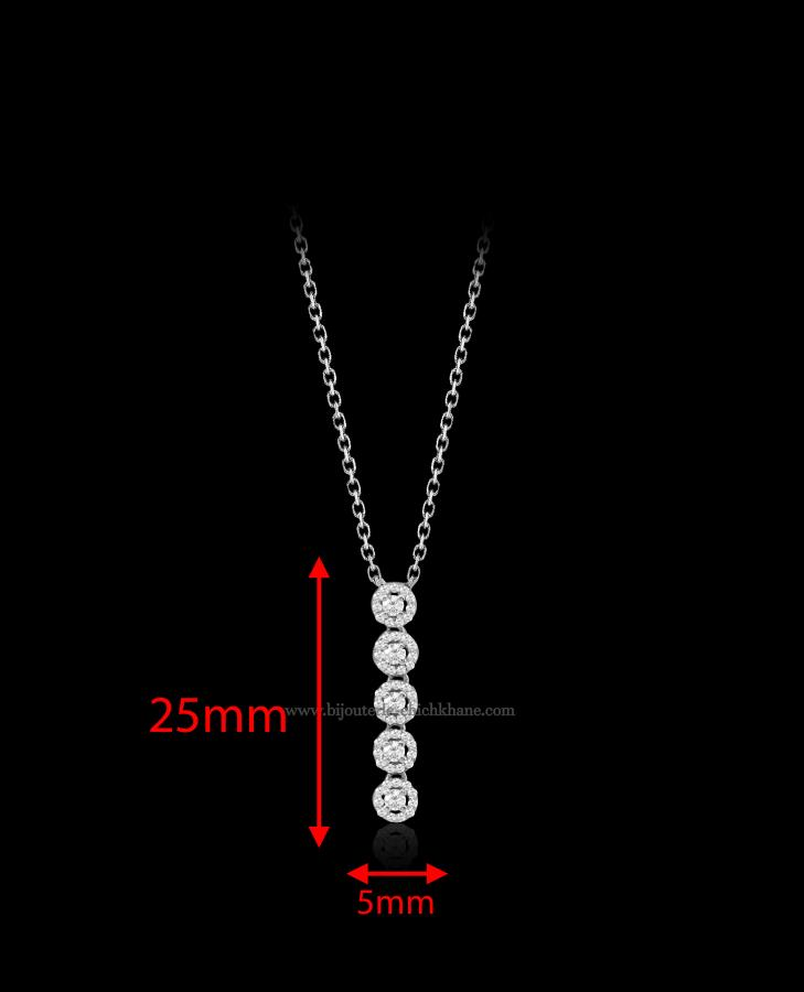 Bijoux en ligne Collier Diamants 47657