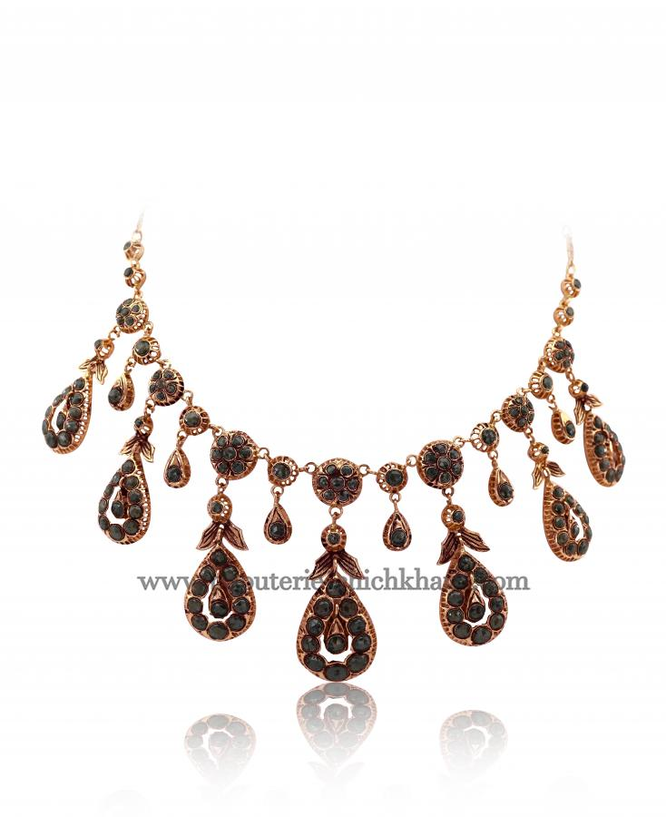 Bijoux en ligne Collier Diamants Rose ''Chichkhane'' 47838
