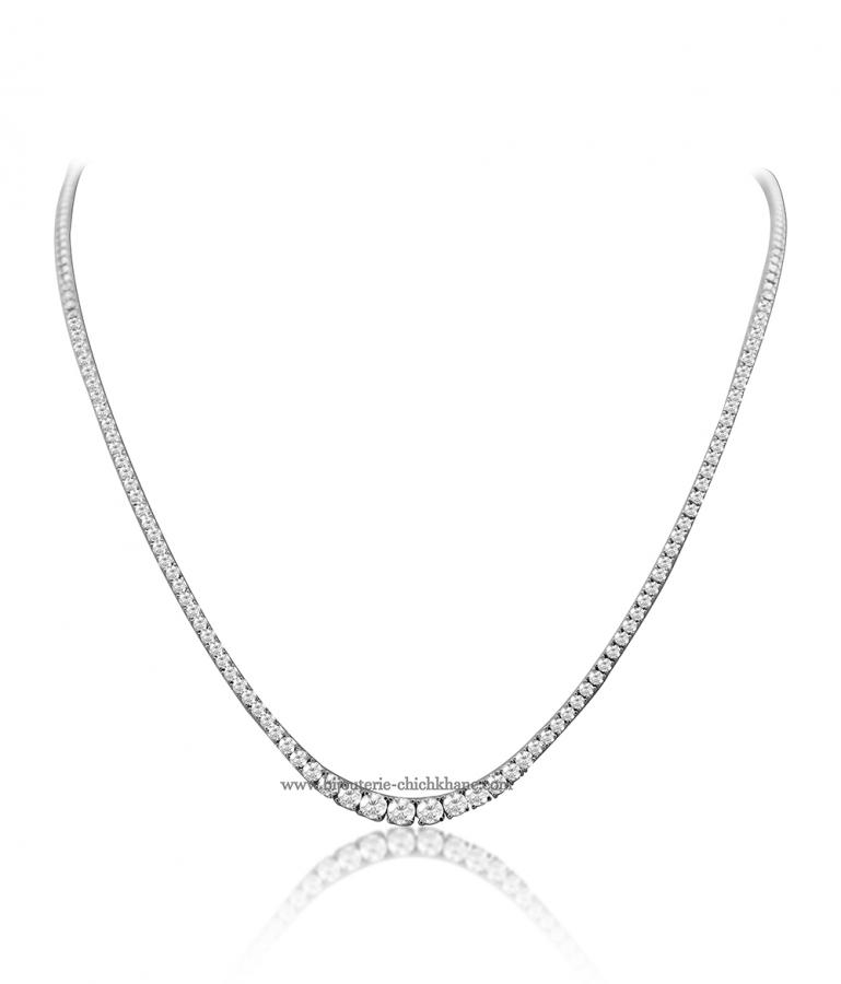 Bijoux en ligne Collier Diamants 48105