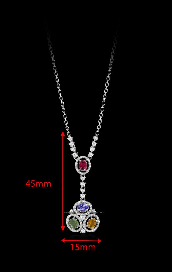 Bijoux en ligne Collier Diamants 48326