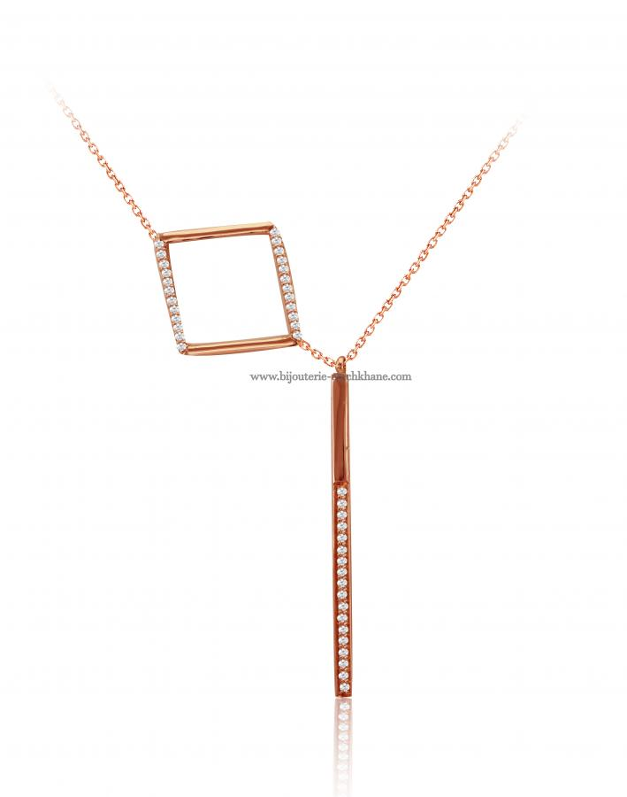 Bijoux en ligne Collier Diamants 48342