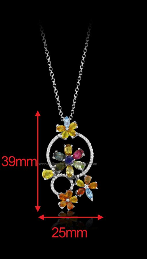 Bijoux en ligne Collier Diamants 48471