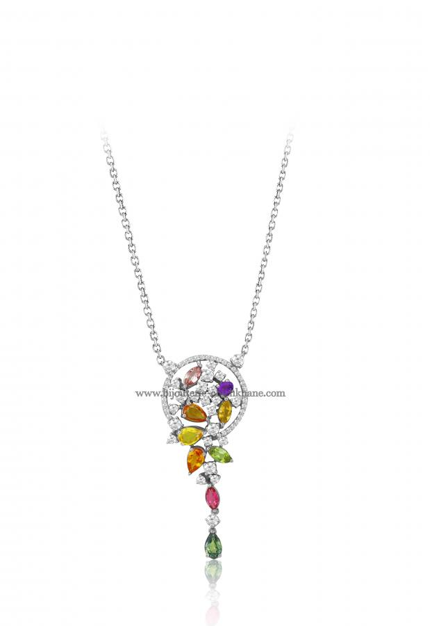 Bijoux en ligne Collier Diamants 48477