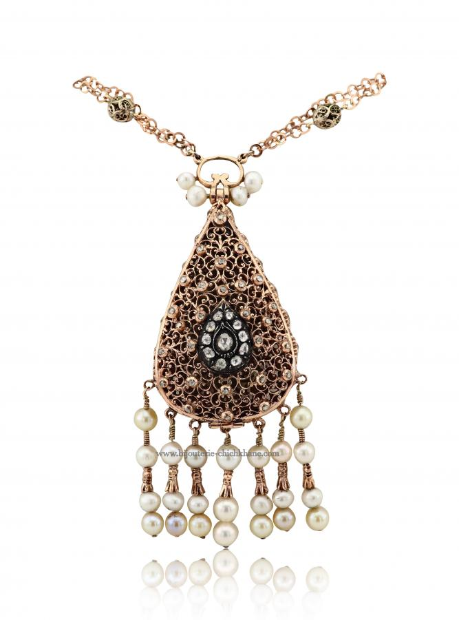 Bijoux en ligne Collier Diamants Blanc ''Chichkhane'' 48529
