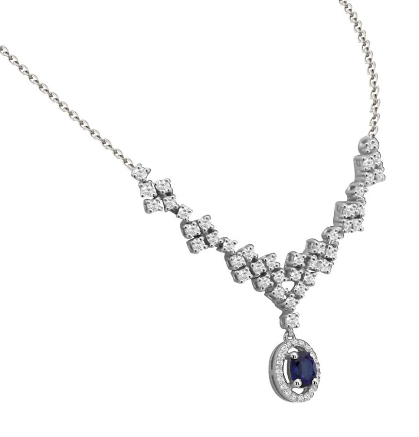 Bijoux en ligne Collier Diamants 48542