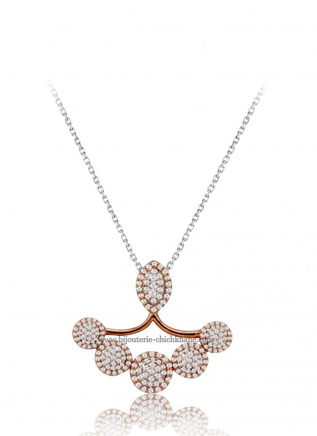 Bijoux en ligne Collier Diamants 48545