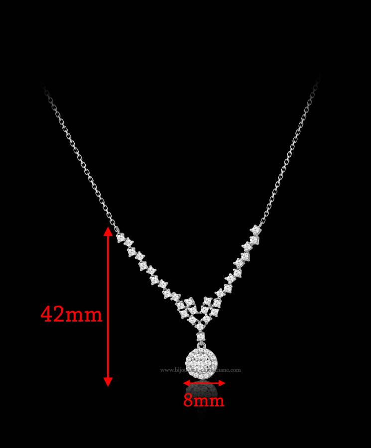 Bijoux en ligne Collier Diamants 48645