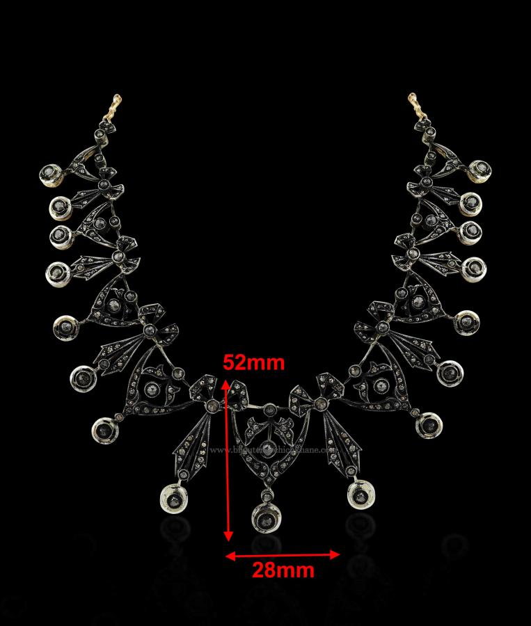Bijoux en ligne Collier Diamants Rose ''Chichkhane'' 49553