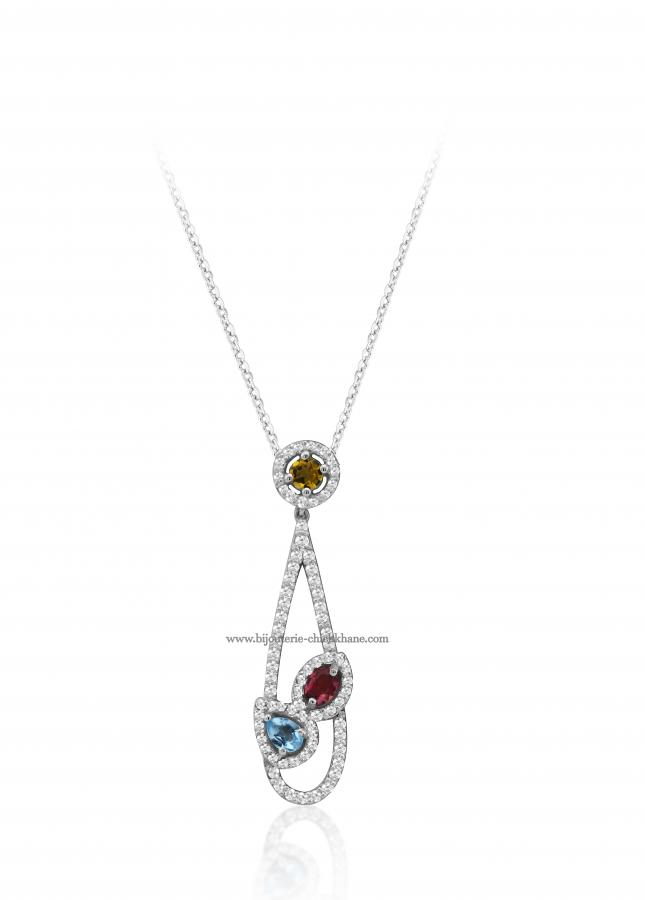 Bijoux en ligne Collier Diamants 49734