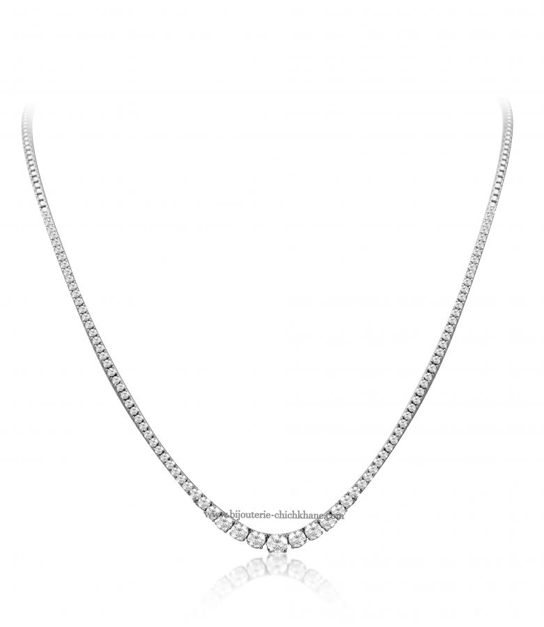 Bijoux en ligne Collier Diamants 49863