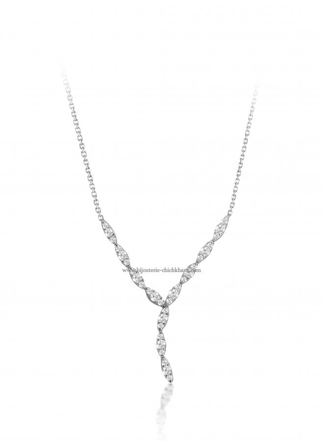 Bijoux en ligne Collier Diamants 50363