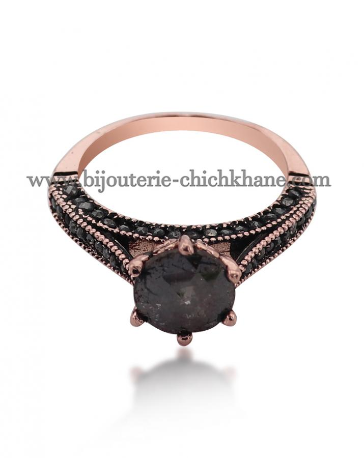 Bijoux en ligne Solitaire Diamants Rose ''Chichkhane'' 50597