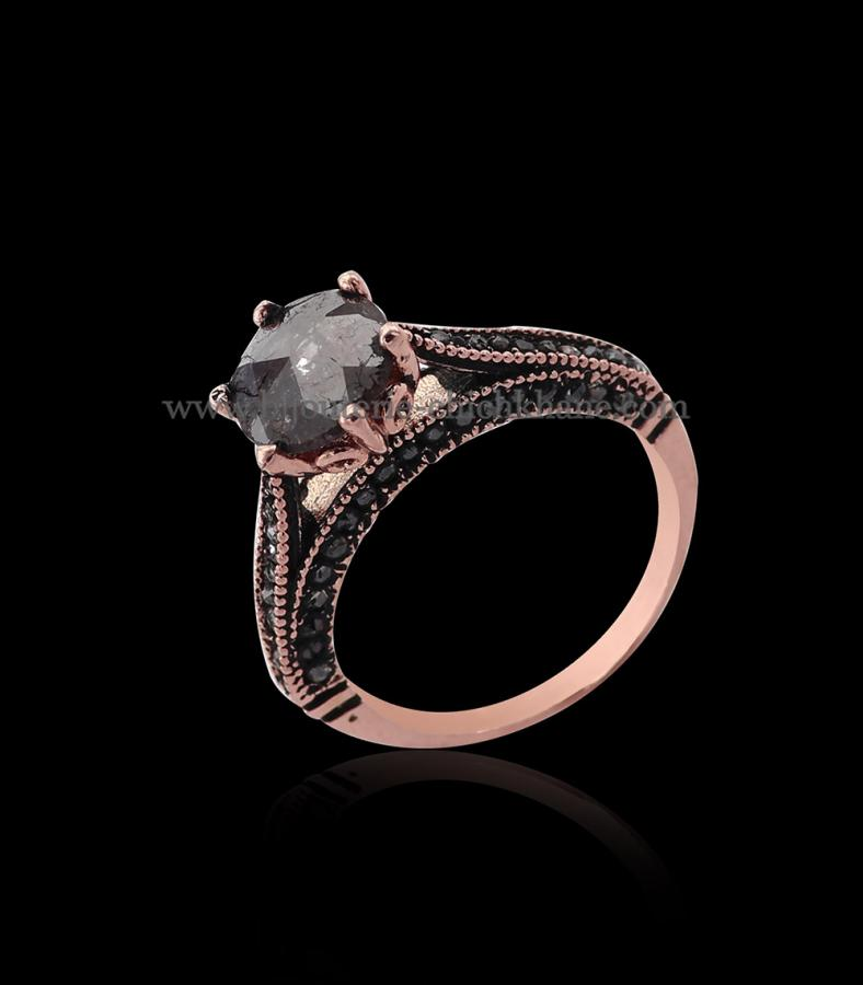 Bijoux en ligne Solitaire Diamants Rose ''Chichkhane'' 54408