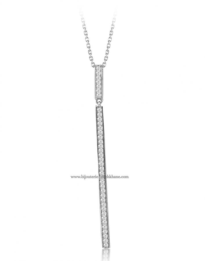 Bijoux en ligne Collier Diamants 50725