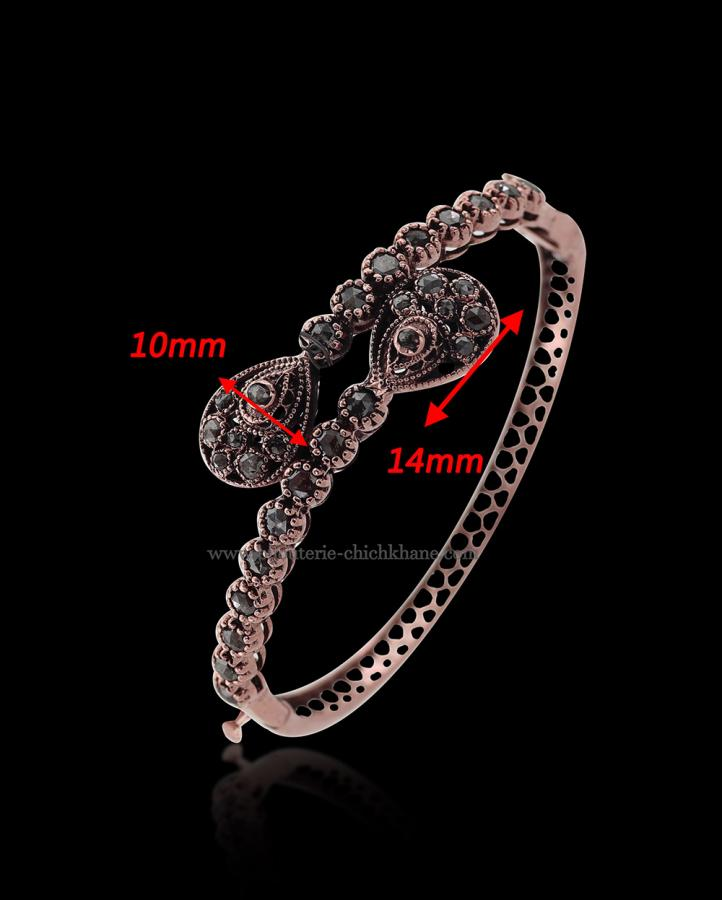 Bijoux en ligne Bracelet Diamants Rose ''Chichkhane'' 50839