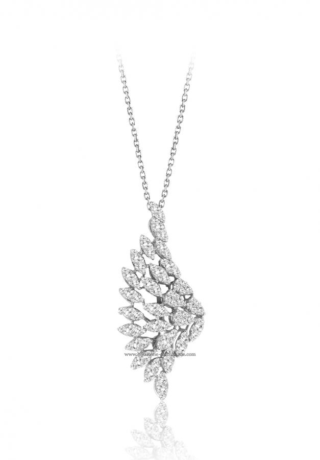 Bijoux en ligne Collier Diamants 50985
