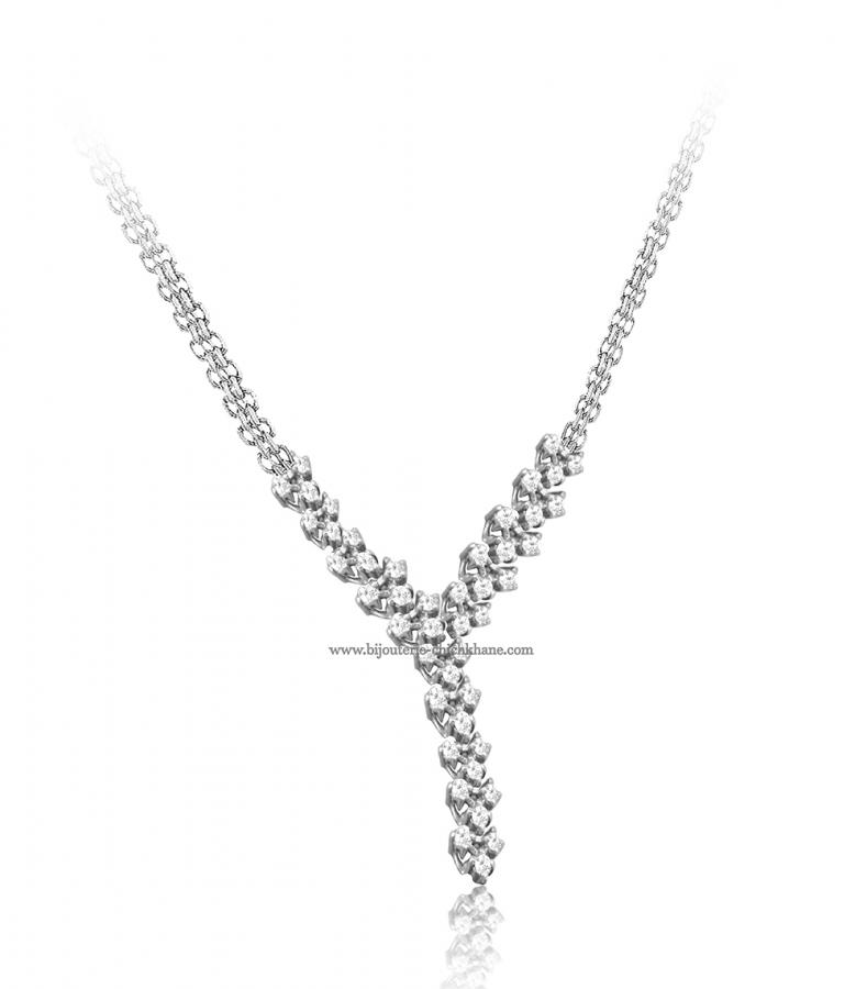 Bijoux en ligne Collier Diamants 50987