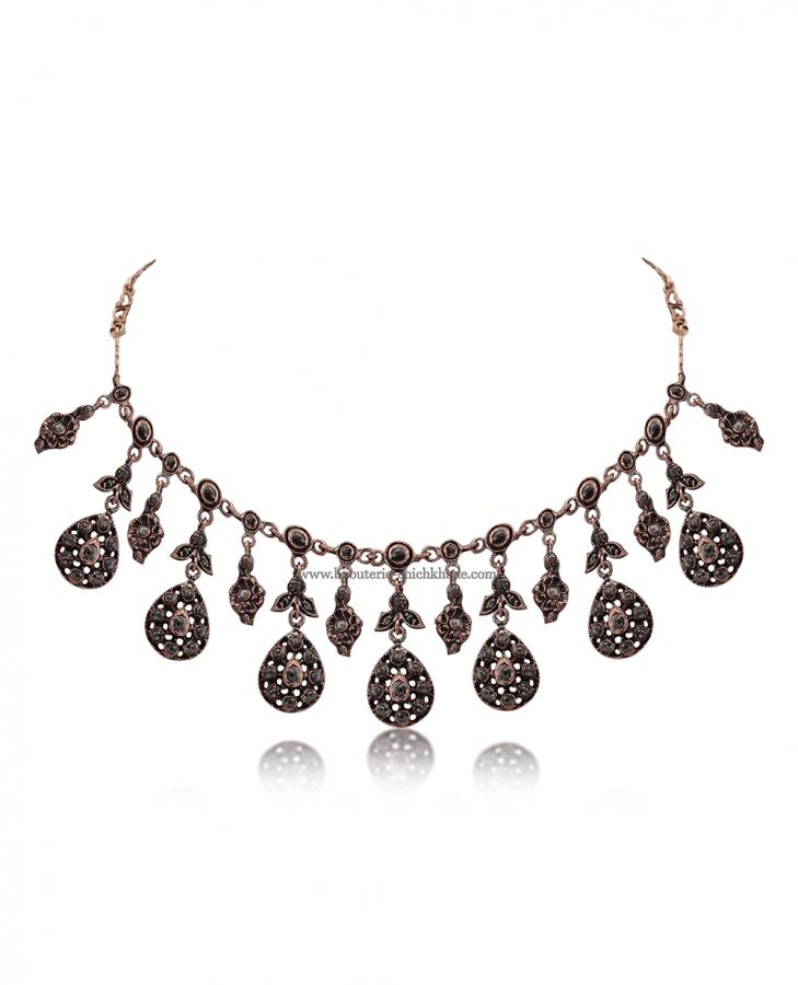 Bijoux en ligne Collier Diamants Rose ''Chichkhane'' 51391