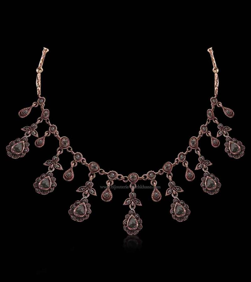 Bijoux en ligne Collier Diamants Rose ''Chichkhane'' 51396