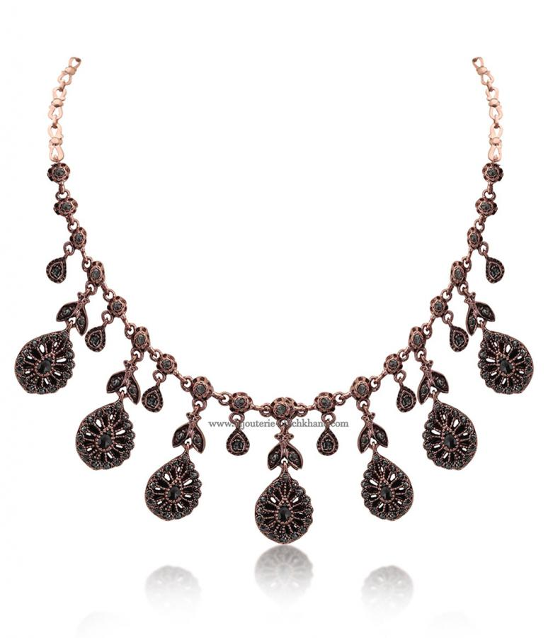 Bijoux en ligne Collier Diamants Rose ''Chichkhane'' 51403