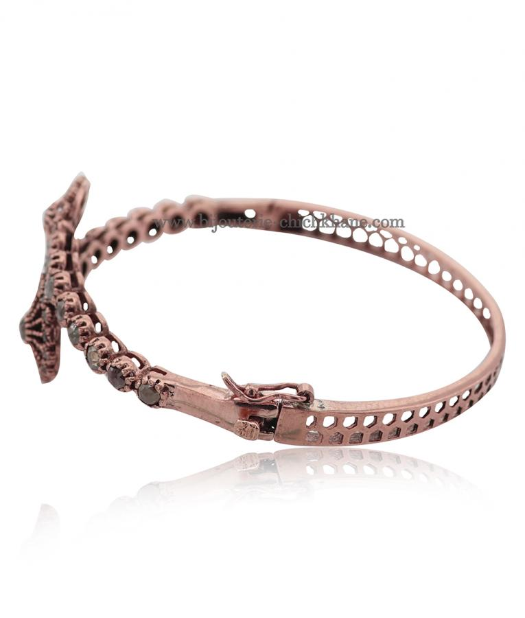 Bijoux en ligne Bracelet Diamants Rose ''Chichkhane'' 51617