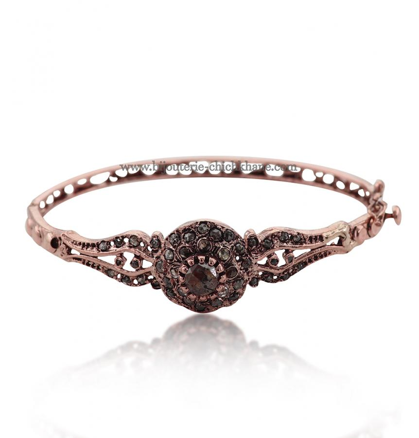 Bijoux en ligne Bracelet Diamants Rose ''Chichkhane'' 51625