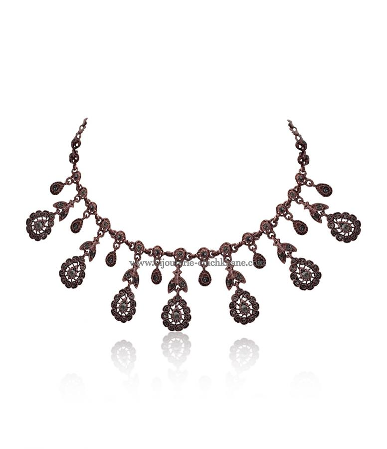 Bijoux en ligne Collier Diamants Rose ''Chichkhane'' 51695