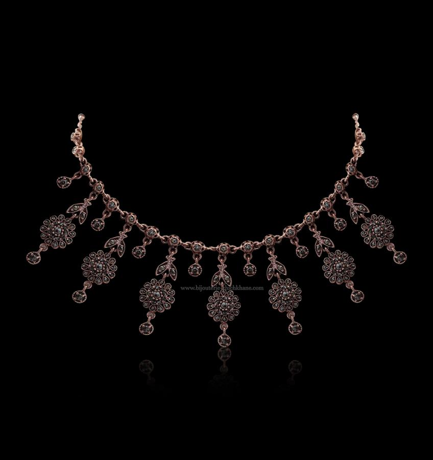 Bijoux en ligne Collier Diamants Rose ''Chichkhane'' 51700