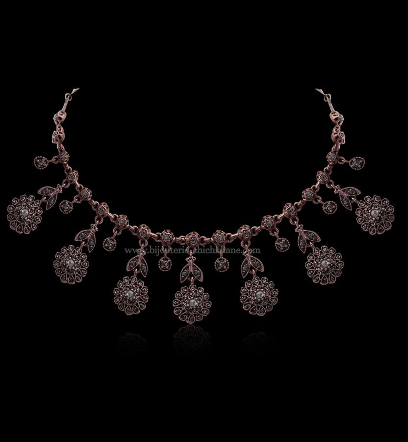 Bijoux en ligne Collier Diamants Rose ''Chichkhane'' 51703