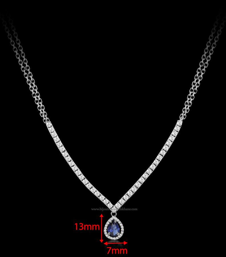 Bijoux en ligne Collier Diamants 51753